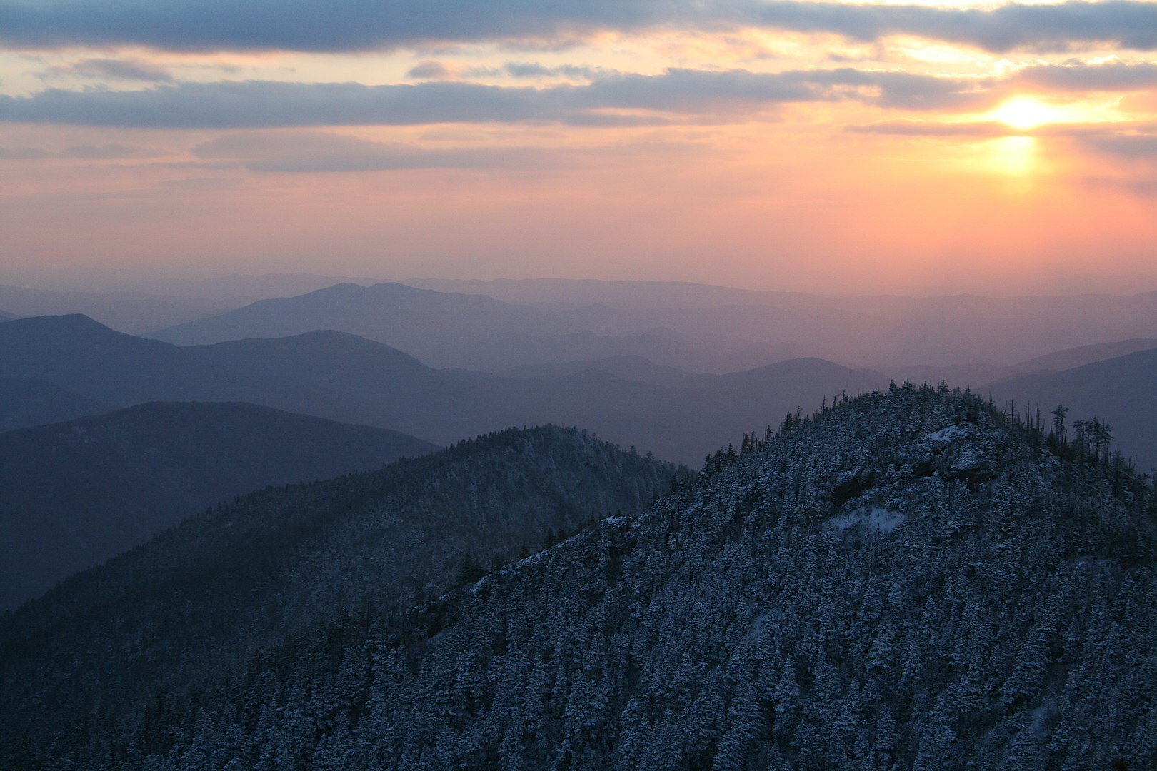 Cliff Tops on Mount Le Conte, Great Smoky Mountains