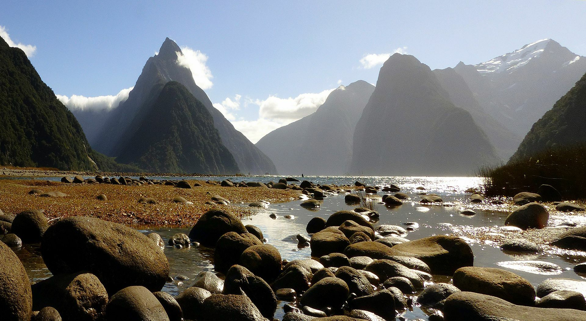 Milford Sound, Te Wahipounamu